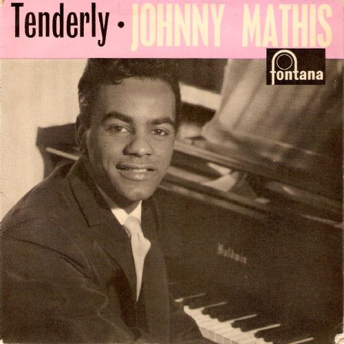 JOHNNY MATHIS Tenderly EP Vinyl Record 7 Inch Fontana 1959